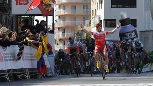 El francès Samuel Dumoulin va ser el guanyador en la darrera visita de la Volta a Catalunya a Tarragona.