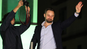El líder de Vox, Santiago Abascal, aquest 10 de novembre del 2019