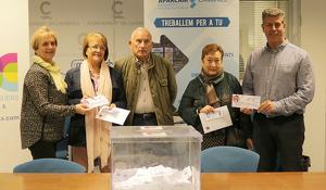 El lliurament dels premis de la cinquena edició de la campanya Viatja i guanya s'ha fet aquest matí a l'Ajuntament de Cambrils.