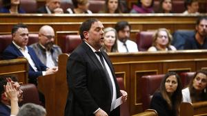 El Tribunal Suprem ha proposat inhabilitat Oriol Junqueras fins que Luxemburg es pronunciï