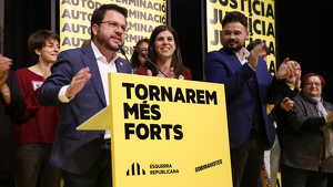 El vicepresident Pere Aragonès ofereix el sí o l'abstenció dels republicans a canvi de diàleg