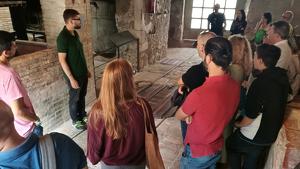 El visitant podrà conèixer el funcionament d'una destil•leria del segle XIX