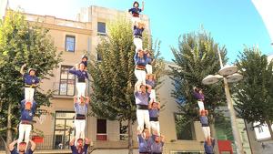 Els Capgrossos de Mataró van completar el primer vano de 6 de la seva història