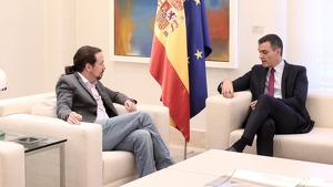 Els equips de Pedro Sánchez i Pablo Iglesias haurien fixat 10 línies mestres per garantir la governabilitat