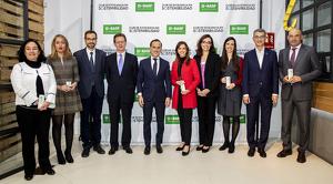 Els guanyadors dels I premis BASF a la millor pràctica d'Economia Circular a Espanya