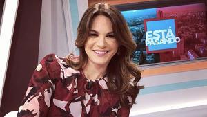 Fabiola Martínez es colaboradora de 'Está pasando'