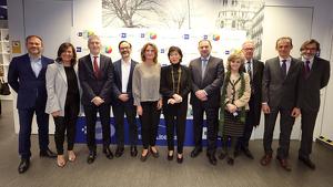 Foto de la acto Foro Líderes de la Agencia EFE