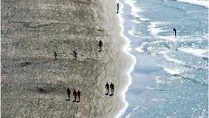 Hasta 900 kg de cocaína en fardos han llegado a las playas francesas