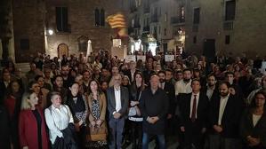 Homenatge a la Família Reial al centre de Barcelona