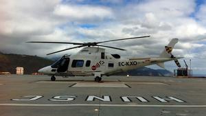 Imagen de archivo de un Helicóptero del SUC