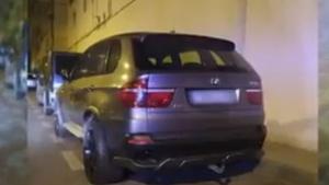 Imagen del posible coche utilizado en el tiroteo, según 'Espejo Público'.