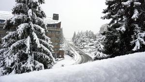 Imatge d'aquest matí de Baqueira després de la nevada d'aquesta nit
