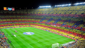 Imatge d'arxiu del Camp Nou.
