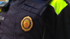 Imatge d'arxiu d'un agent de la Policia Local d'Amposta.