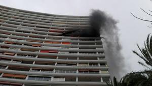 Imatge d'arxiu d'un incendi a Alacant