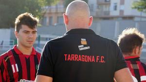 Imatge d'arxiu d'un partit del Tarragona Futbol Club.