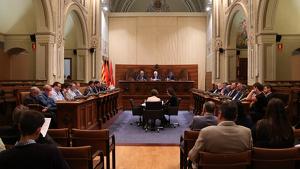 Imatge d'arxiu d'un plenari de la Diputació de Tarragona.