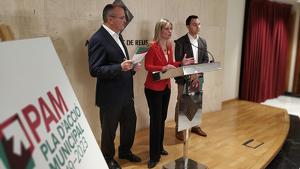 Imatge de la presentació del PAM del govern de Reus