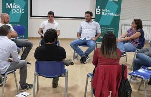 Imatge de la reunió de formació de Més Cerdanyola
