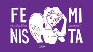 Imatge del cartell de l'Ajuntament del Vendrell per commemorar el Dia Internacional per l'Eliminació de la Violència contra les Dones