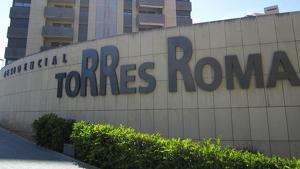 Imatge del conjunt residencial Torres Roma, a l'avinguda Roma de Tarragona.