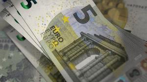 Imatge d'un bitllet de 5 euros