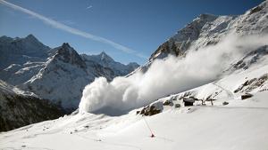 Imatge il·lustrativa d'una allau de neu