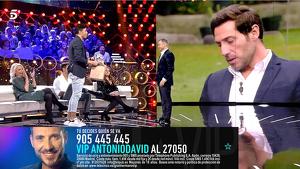 Kiko Jiménez, Rocío Flores y Jorge Javier Vázquez en 'GH VIP 7'