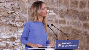 La candidata popular per Barcelona a les eleccions generals, Cayetana Álvarez de Toledo