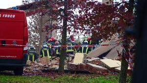 La explosión ha causado el fatal derrumbe de la casa