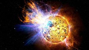 La explosión se produjo en una galaxia muy lejana
