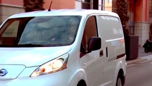 La furgoneta e-NV200 de Nissan