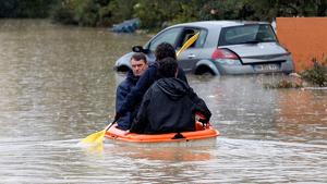 La inundaciones han sido muy graves en el sur de Francia