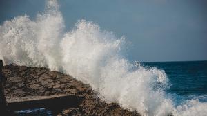 La mala mar i el fort vent persistiran aquest pròxim dimarts a la Costa Brava