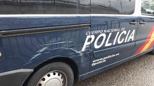 La Policía Nacional está buscando al sospechoso