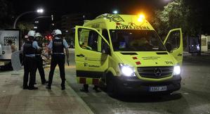 La Policia va trucar l'ambulància després d'arribar al lloc de l'accident