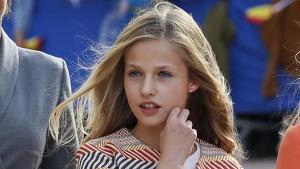 La princesa Leonor debuta en Cataluña