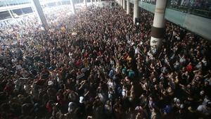 El Tsunami Democràtic emet un comunicat internacional denunciant la sentència