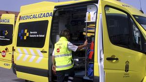 Las asistencias trasladaron a los heridos a un centro médico
