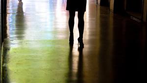 Imagen de una mujer ejerciendo la prostitución
