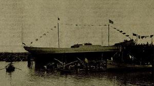 L'històric vaixell Mont-Sant data del 1920 i és història de la nàutica de Tarragona