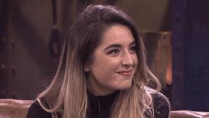 Lola Índigo durant una entrevista