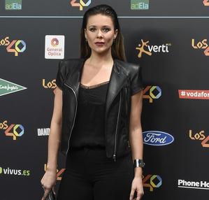 Lorena Gómez en una gala de 'Los 40'