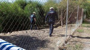 Los cuerpos de seguridad han inspeccionado la zona en busca de indicios o pruebas