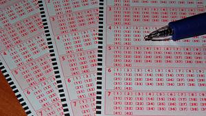 Los dos compañeros de trabajo comprar el mismo número de la lotería, el cual solían partir