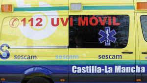 Los heridos han sido trasladados en una UVI Móvil