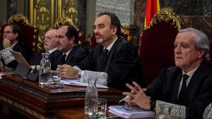 Marchena, premiat pel judici al procés