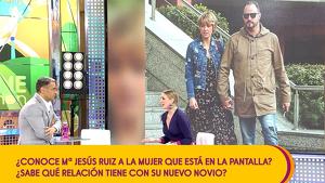 María Jesús Ruiz junto a Jorge Javier Vázquez en 'Sálvame'