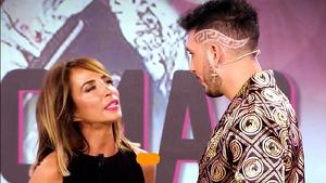 María Patiño está incómoda ante la actitud de Omar Montes