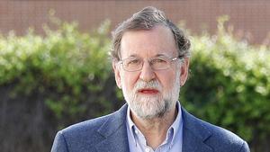 Mariano Rajoy després de abandonar la política